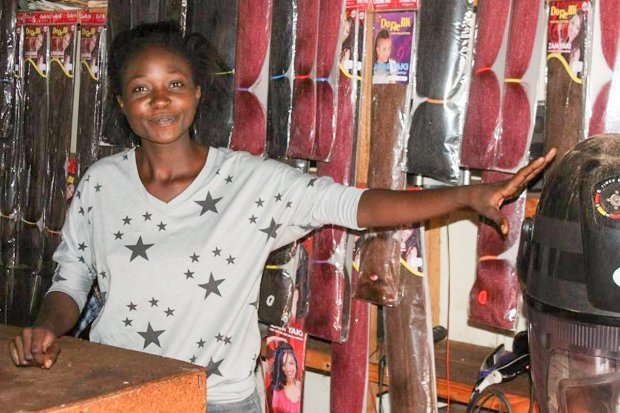 Success story: Emelda Kapelembe, who takes part in First Quantum Mineral's Local Business Development programmes.