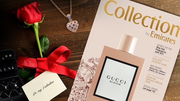 Customers in need of a last minute Valentine's gift are in luck as there is a Duty Free sale on board from the 10th - 18th February offering a 20% discount on all purchases over USD 95.