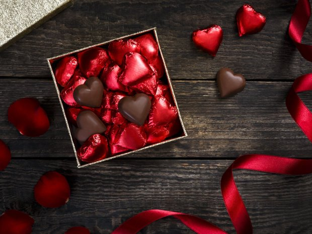 Emirates is serving heart shaped Belgian chocolates across all classes for Valentine's Day