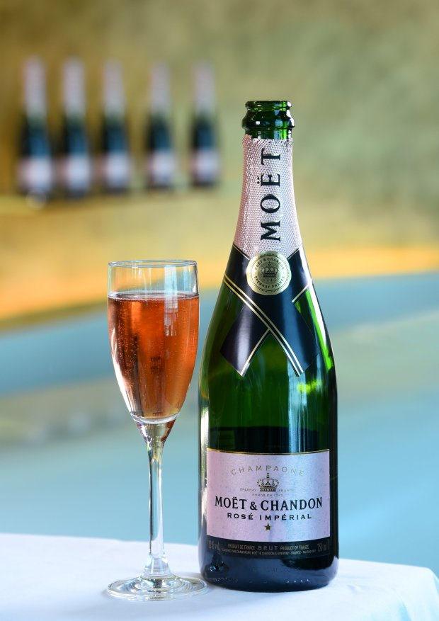 Customers can enjoy Moet & Chandon Rosé Impérial from the 13th of February across all seven Emirates lounges at Dubai International Airport.