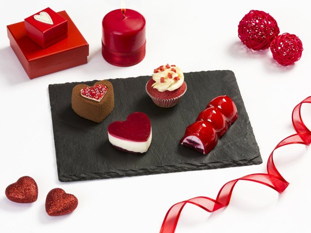 Emirates lounges will have specially created Valentine's Day desserts