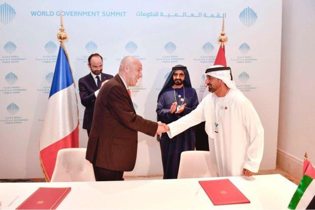 Emirates firms up its latest order for 36 additional Airbus A380 aircraft worth US$16 billion. HH Sheikh Ahmed bin Saeed Al Maktoum, Chairman and Chief Executive, Emirates airline and Group signed the agreement today with Mikail Houari, President Airbus Africa Middle East, at the World Government Summit in Dubai, in the presence of HH Sheikh Mohammed bin Rashid Al Maktoum, Vice President and Prime Minister of the United Arab Emirates, ruler of the Emirate of Dubai and Edouard Philippe, Prime Minister of France.